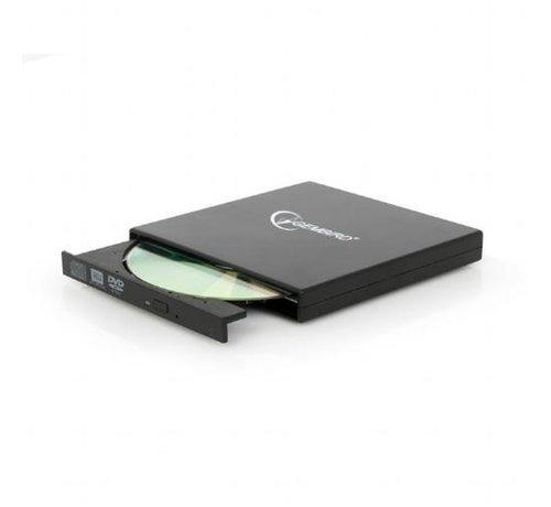 Gembird Gembird DVD-USB-02 optisch schijfstation Silver DVD±RW