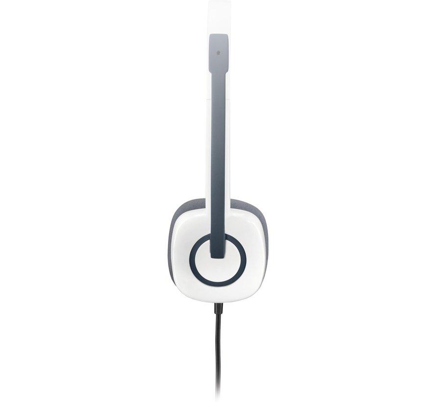 Logitech H150 Stereo Headset wit
