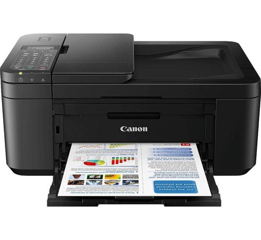 Canon TR4550 AIO/ Kleur/Copy/Scan/WiFi/ Docu Invoer/ Black