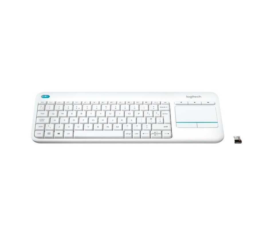 Logitech Touch Keyboard K400 Plus Wit