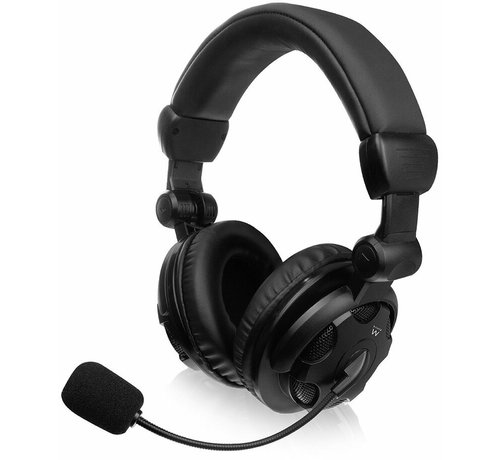 Ewent Ewent Headset Over-ear with mic and volume control