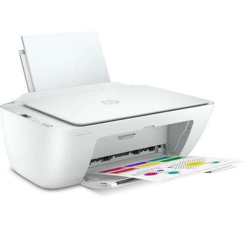 Hewlett Packard HP Deskjet Printer / 2710E AiO / Color / WiFi