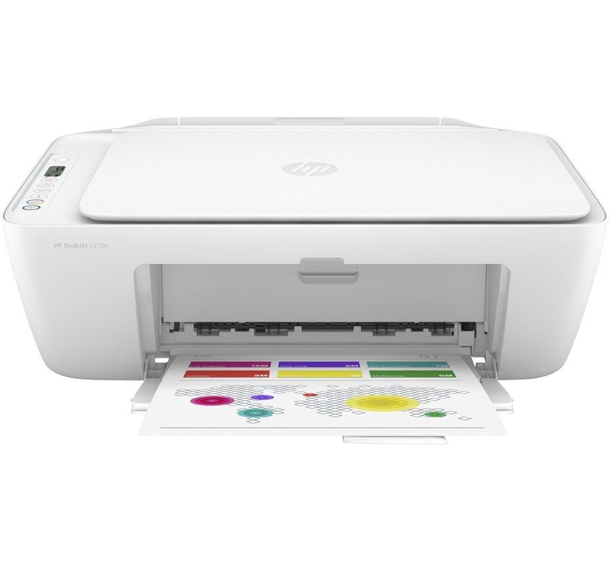 HP Deskjet Printer / 2710E AiO / Color / WiFi
