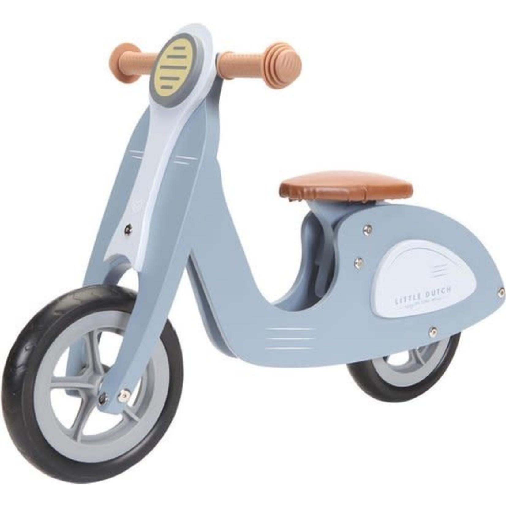 Little Dutch Loopscooter blue
