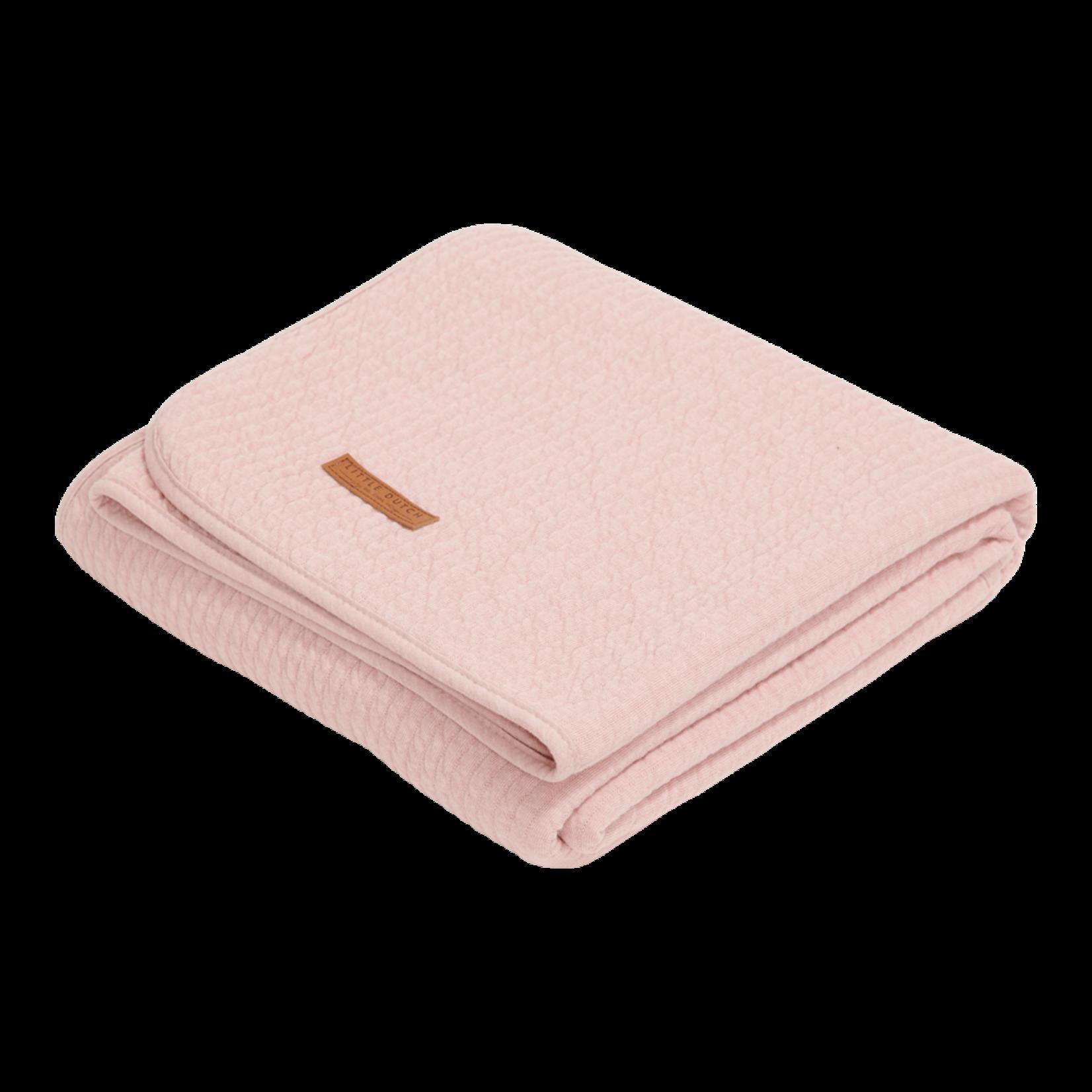Little Dutch Zomerdeken Wieg Pure Pink