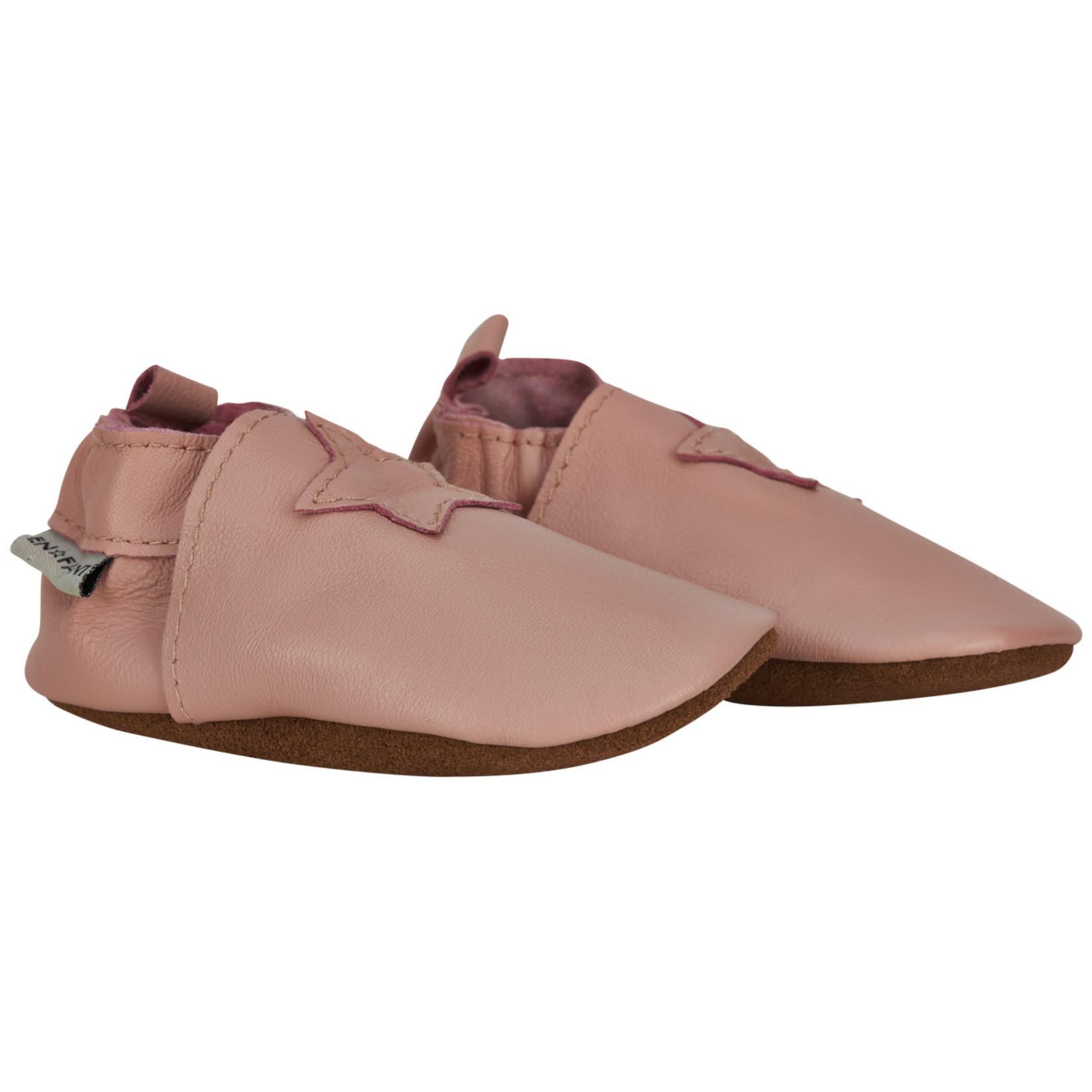 En Fant Lederen Stapschoentjes Light Pink