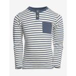 En Fant T-Shirt Lange Mouwen Stripe Dark Slate