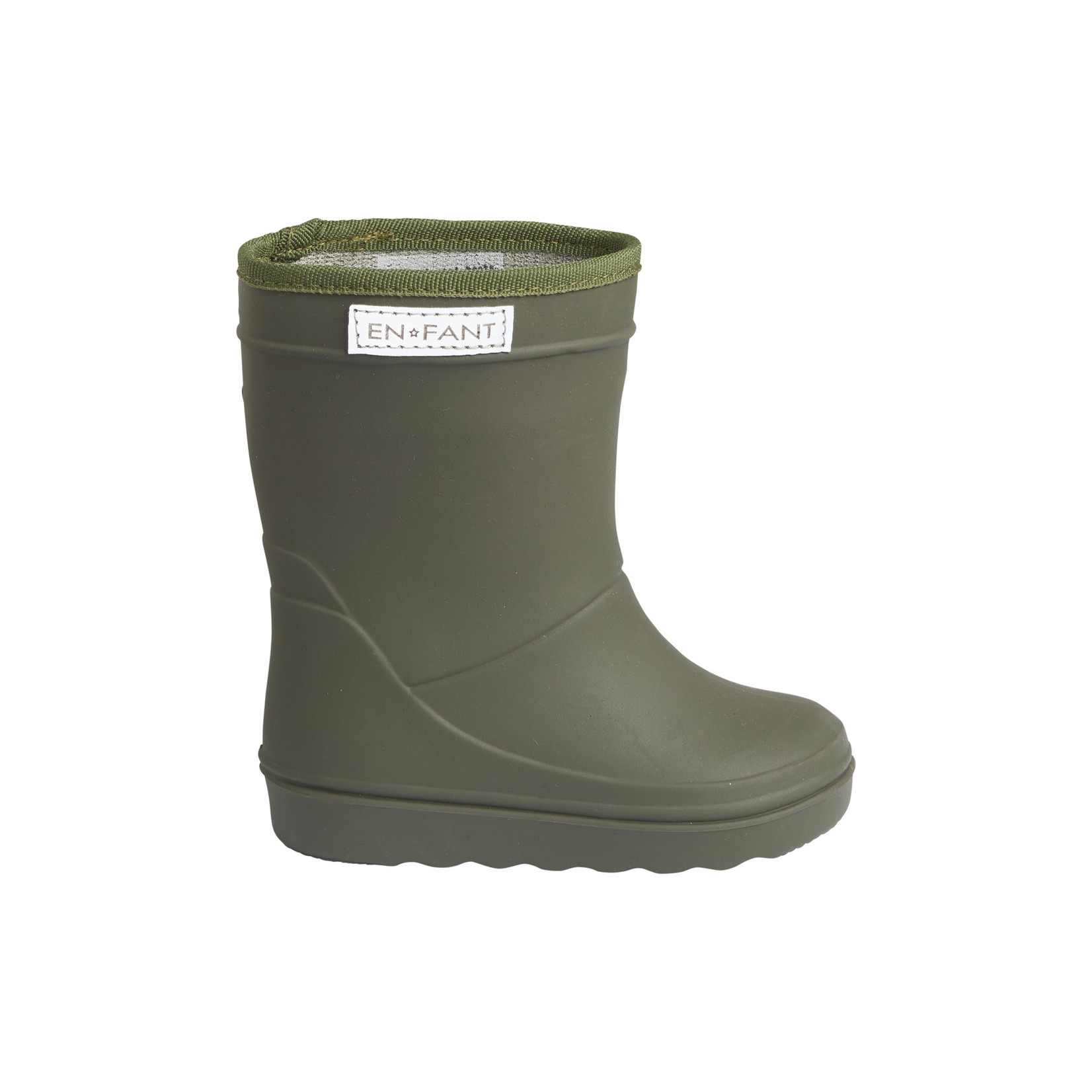 En Fant Thermo Boots Solid Dusty Olive