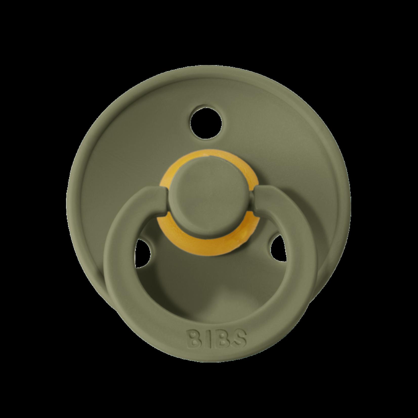 BIBS Fopspeen T2 6-18maanden Olive