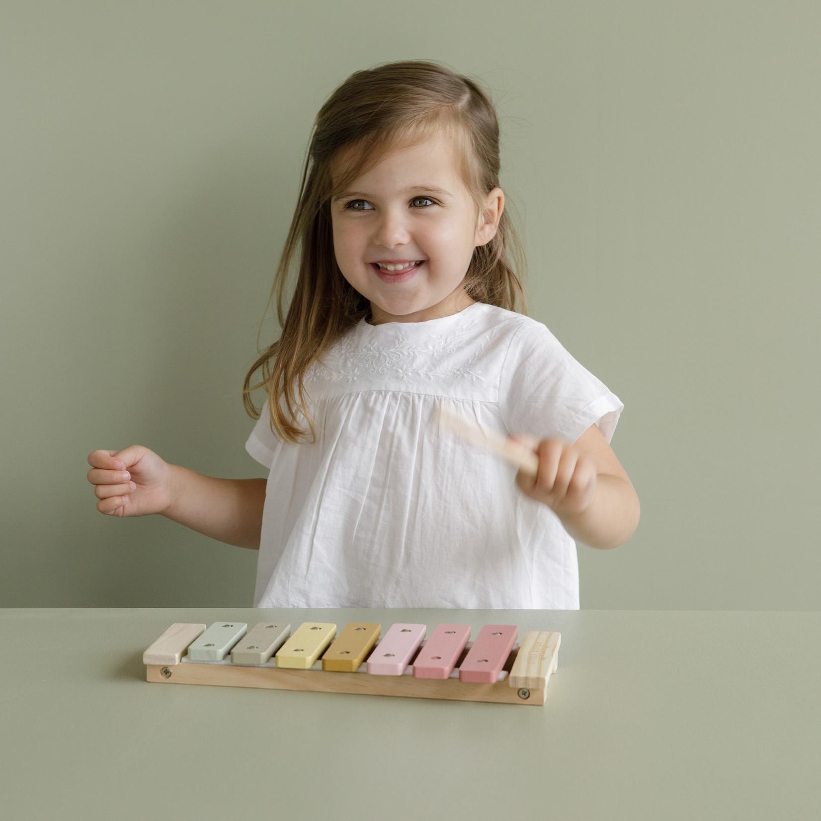 Little Dutch Xylophone Pink