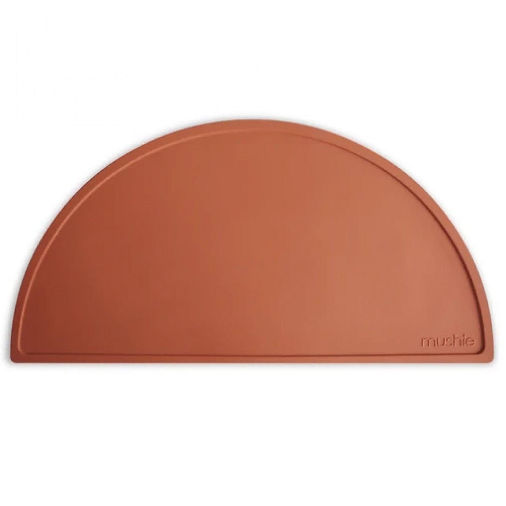 mushie Silicone Placemat Clay