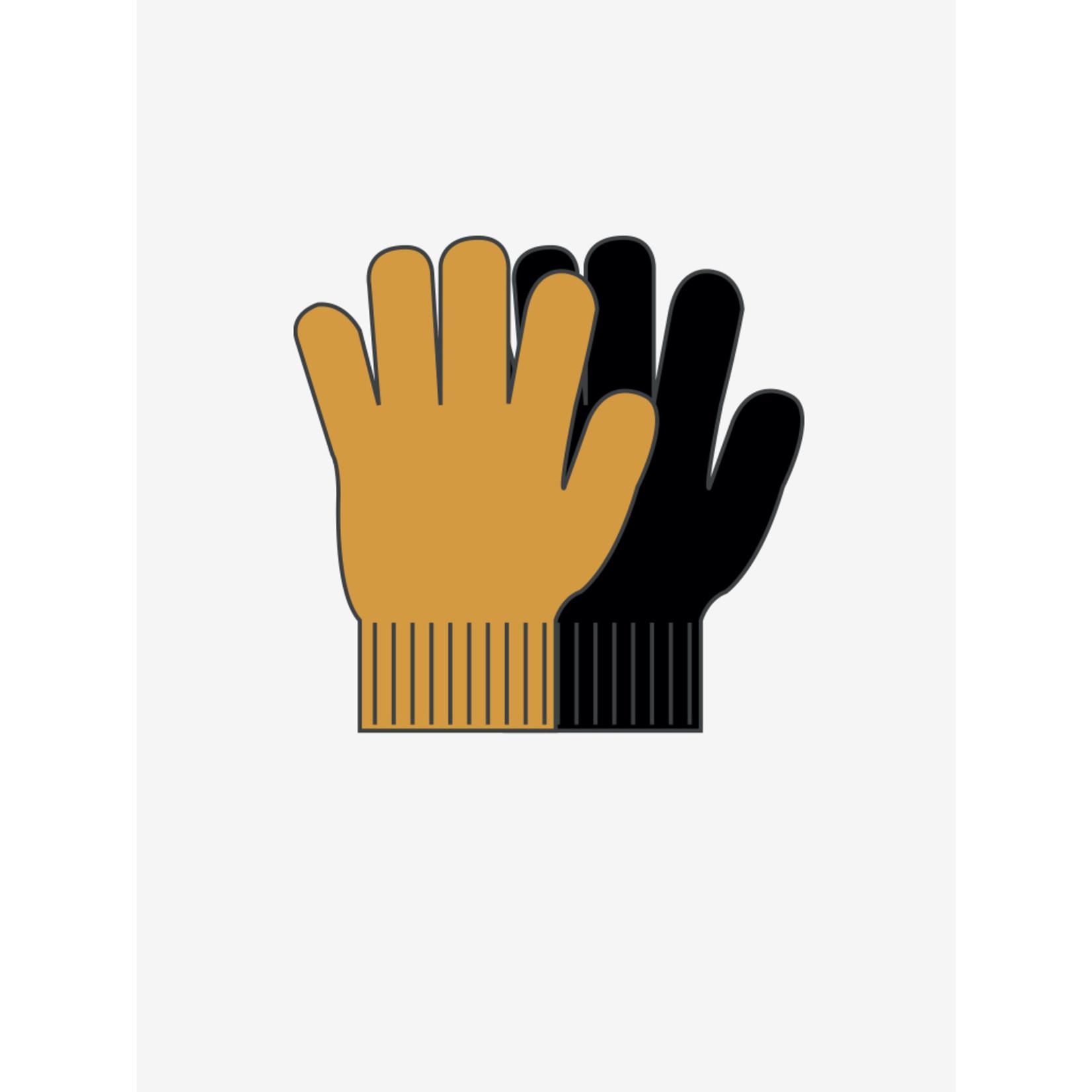 CeLaVi Handschoenen Setje Mineral Yellow