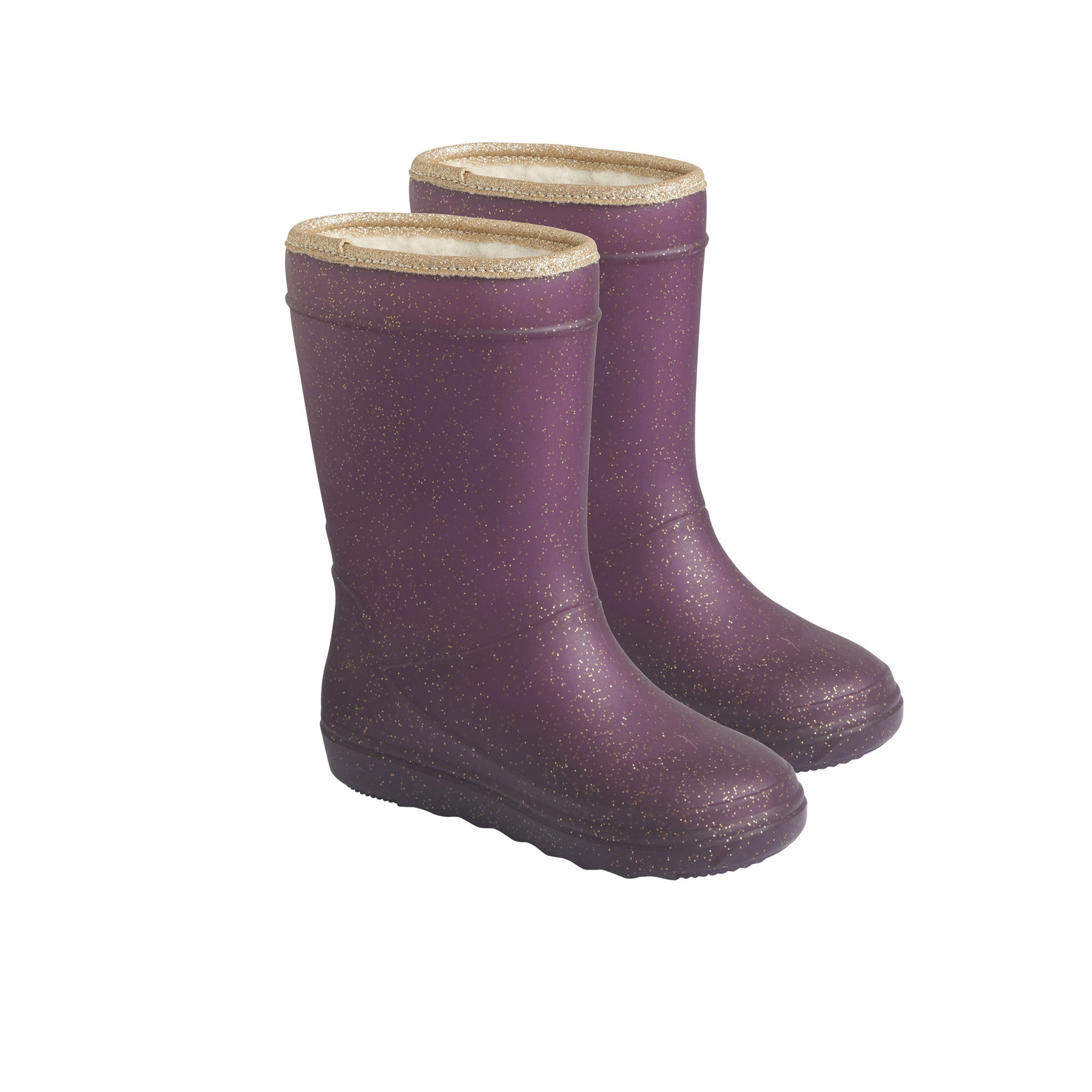 En Fant Thermo Boots Glitter Vineyard Whine