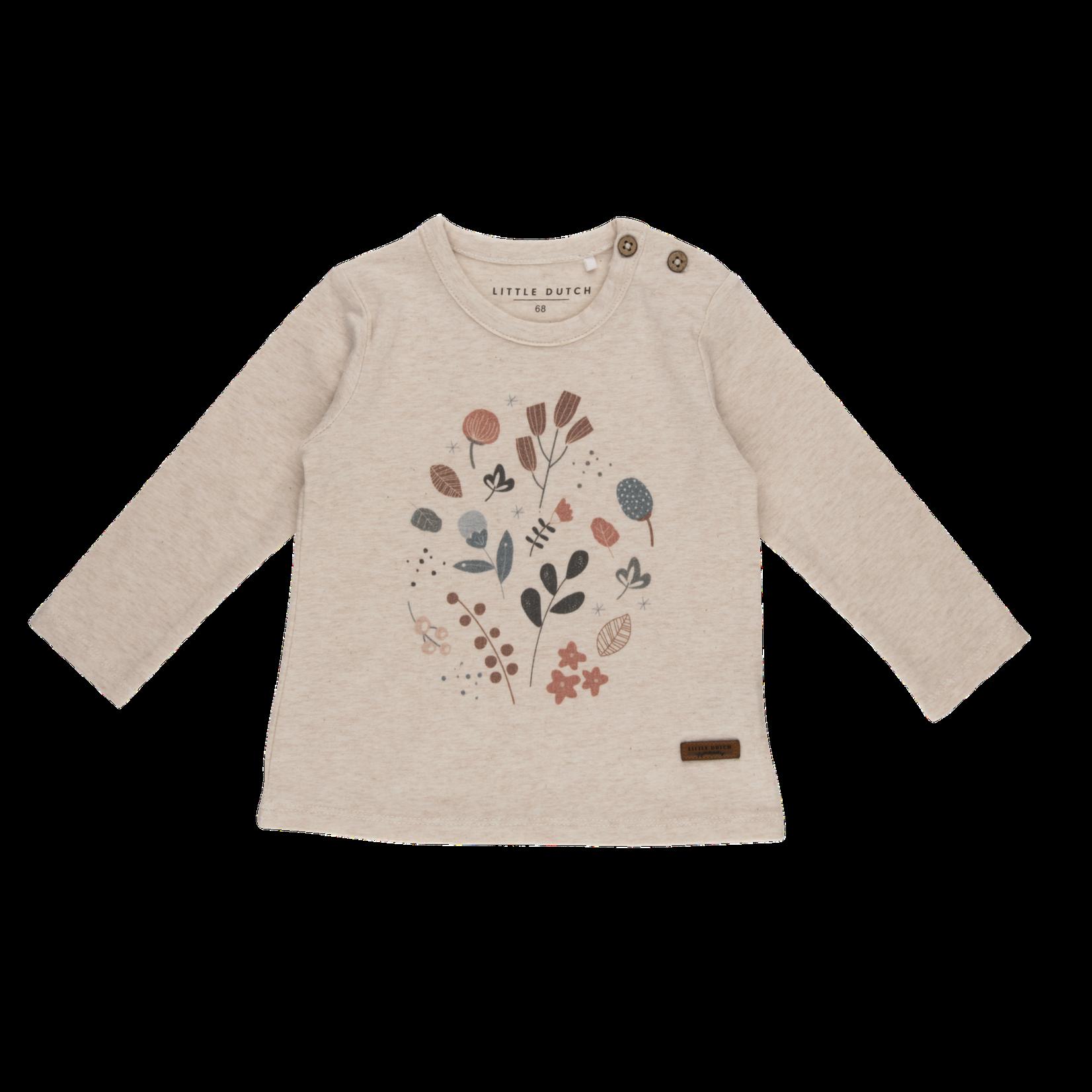 Little Dutch T-Shirt Lange Mouwen Flowers