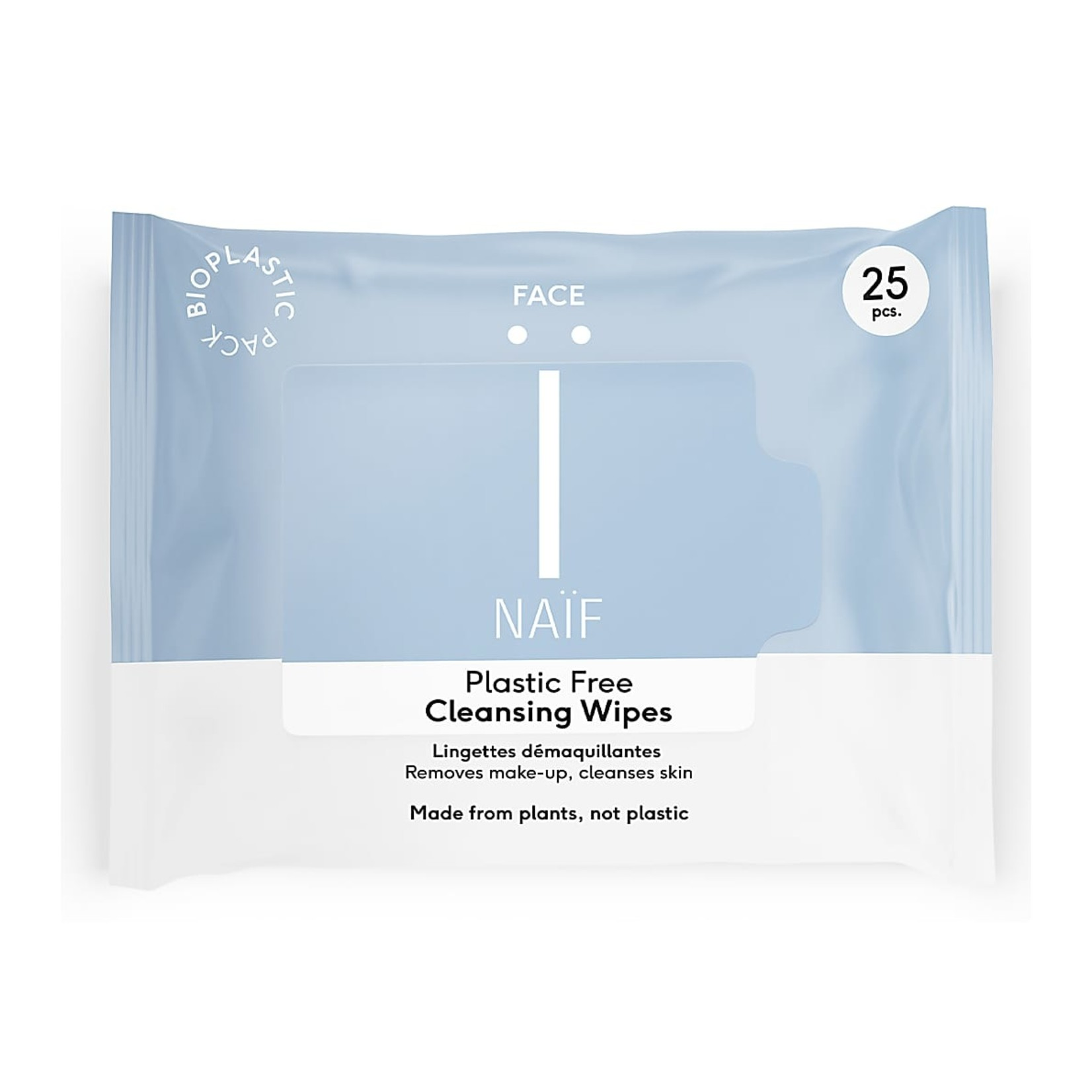 Naïf Plastic Free Cleansing Face Wipes