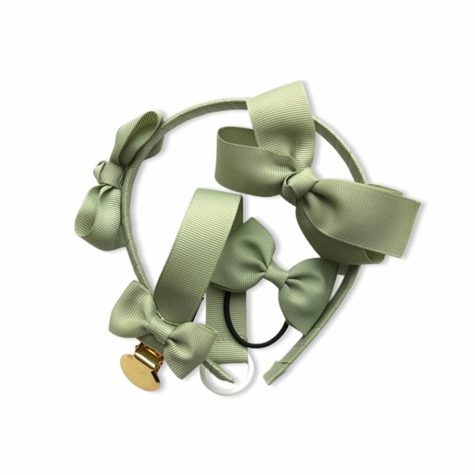 olivia & oliver Haarbandje Groen