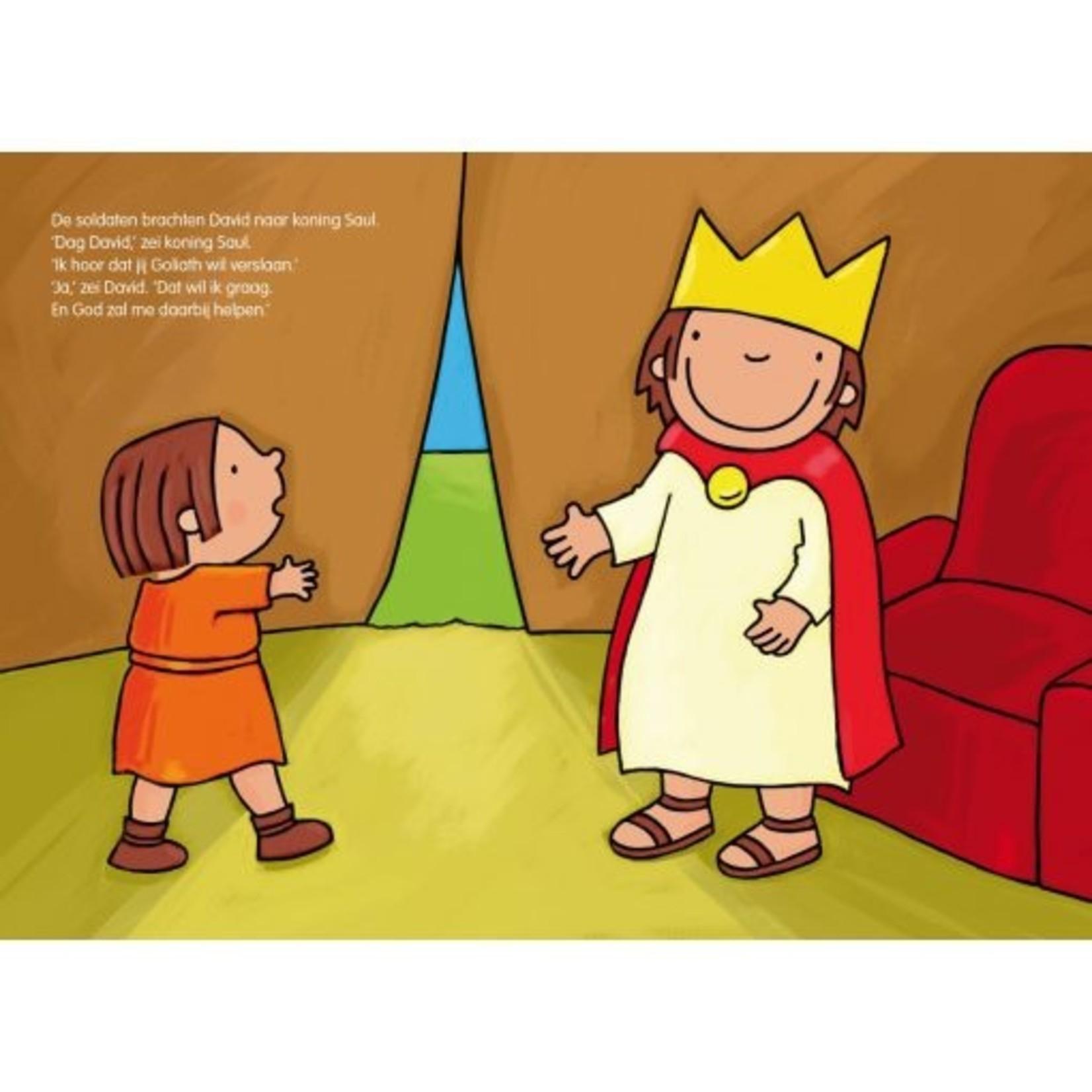 de eenhoorn Het verhaal van David en Goliath Kathleen Amant