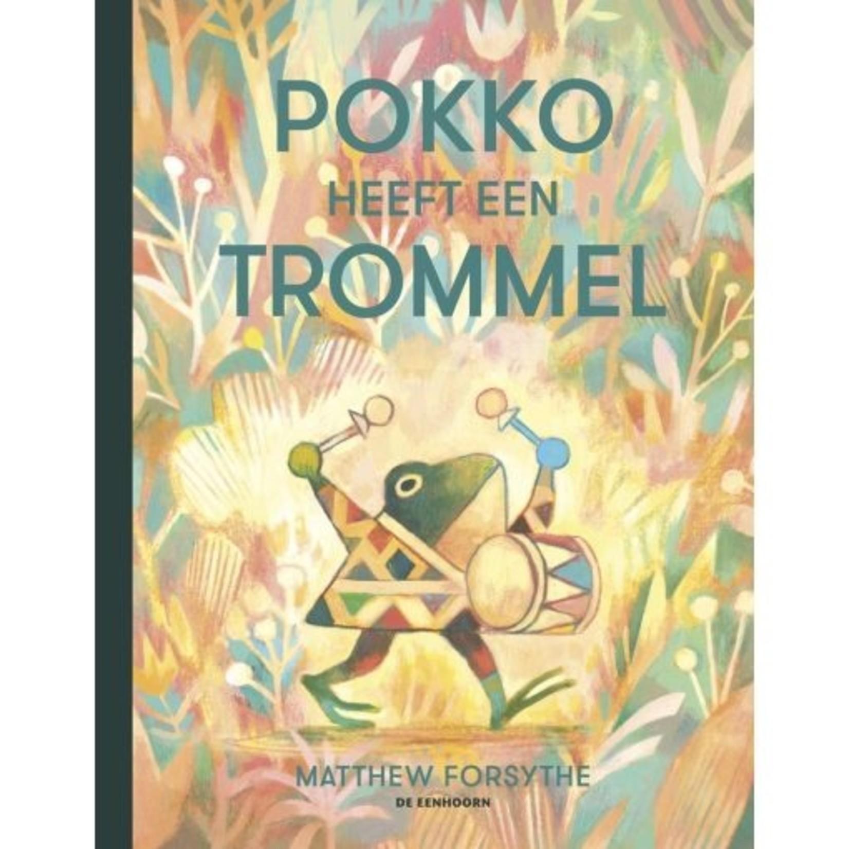 de eenhoorn Pokko heeft een trommel Matthew Forsythe