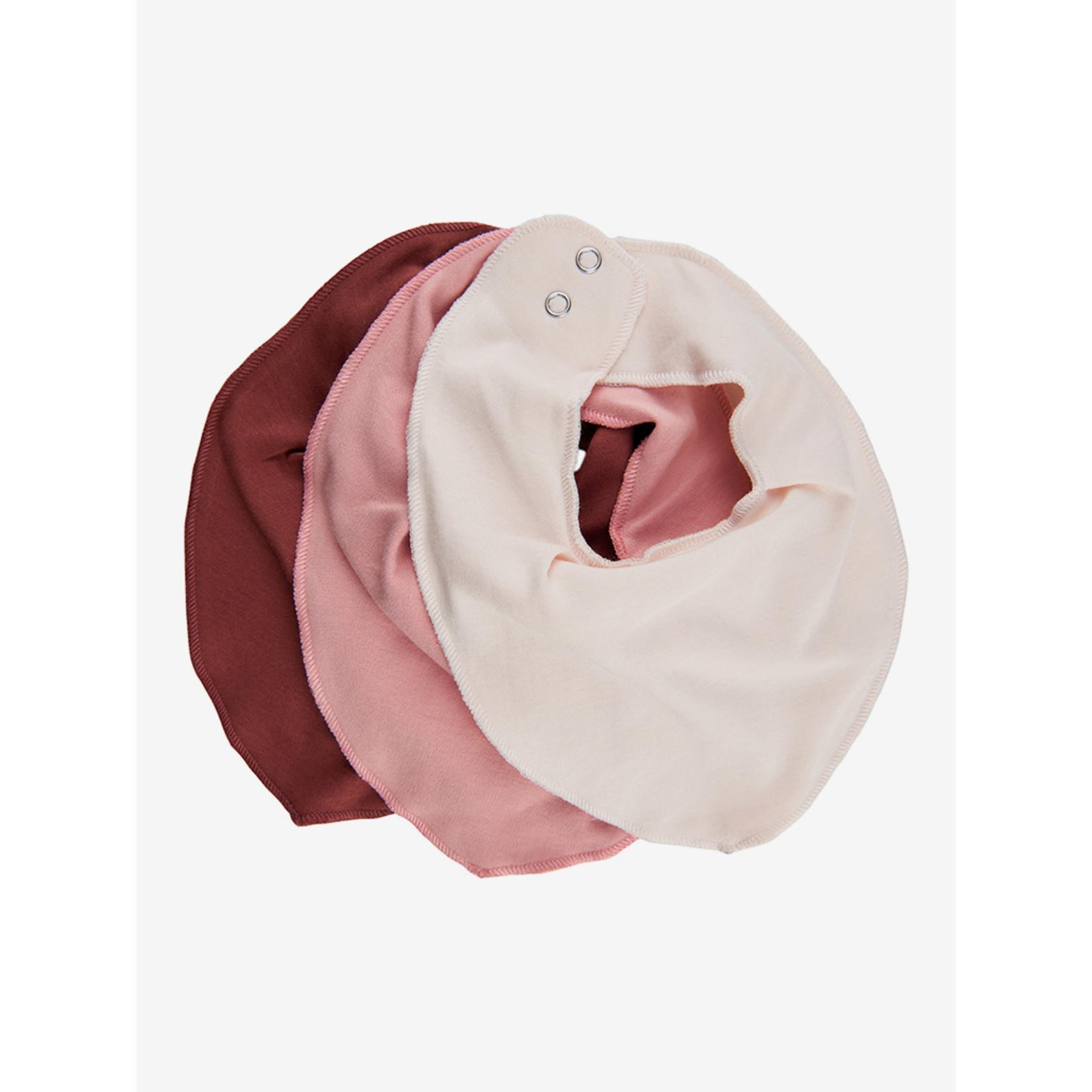 Fixoni Bibs 3 Pack Rose