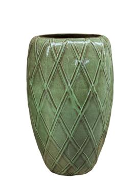 Bloempotten groen Patricius