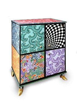 Design kast Crazy Colors