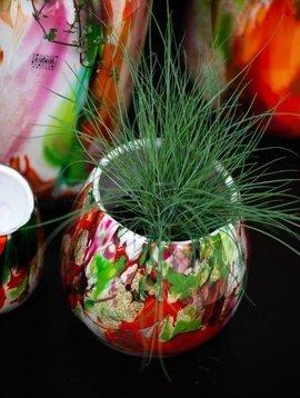 Fidrio Potten Fiore Mixed Colors