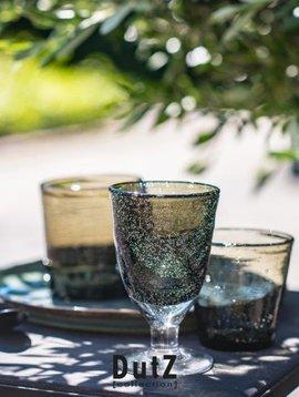 DutZ Drinkglas on foot grey