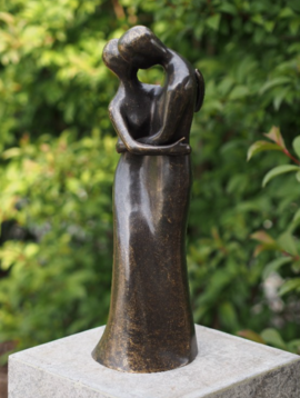 Bronzen beelden In Love