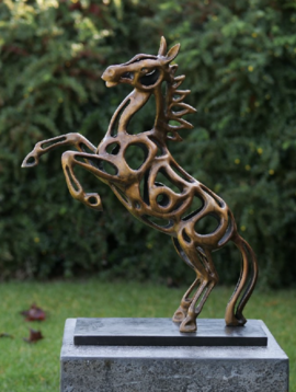 Tuinbeelden paard