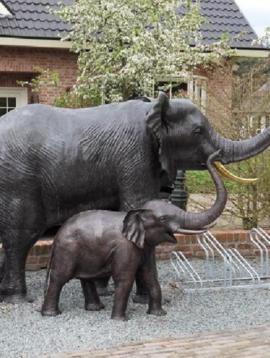 Tuinbeeld olifant