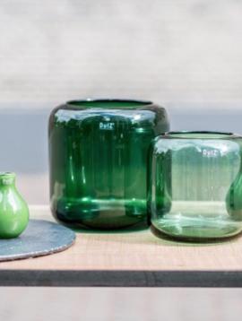 DutZ Groene vaas Mazurka green