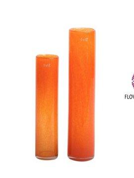 DutZ Cilinder vaas orange