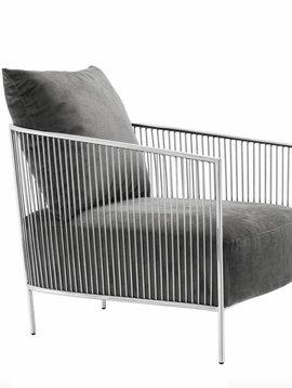 Eichholtz Chair Knox grey