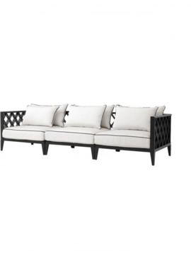 Eichholtz Sofa Ocean Club Black White