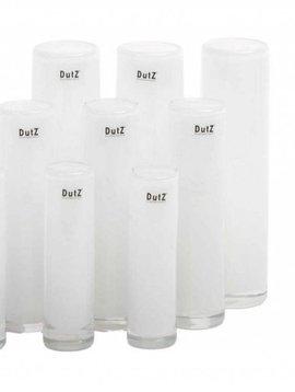 DutZ Witte cilinder vazen