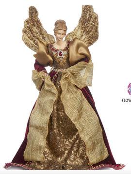 Goodwill Engel pop burgundy