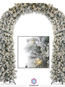 Goodwill Kerstboog besneeuwd