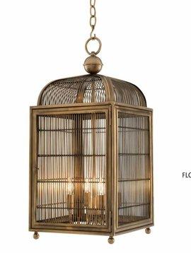 Eichholtz Vogelkooi lamp brass