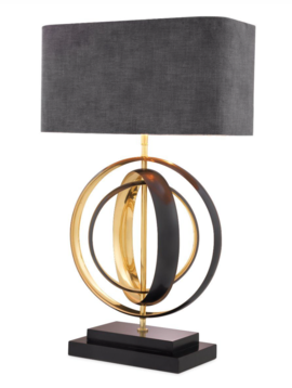 Eichholtz Gouden lamp Riley