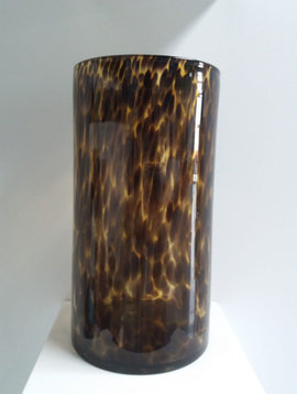 Fidrio Cilinder vaas Leppard