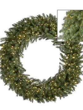 Goodwill Kerstkrans groen met LED