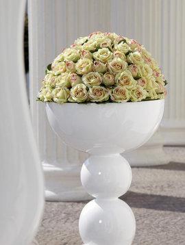 Witte vazen groot