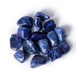 Sodaliet trommelsteen - trouw zijn aan jezelf
