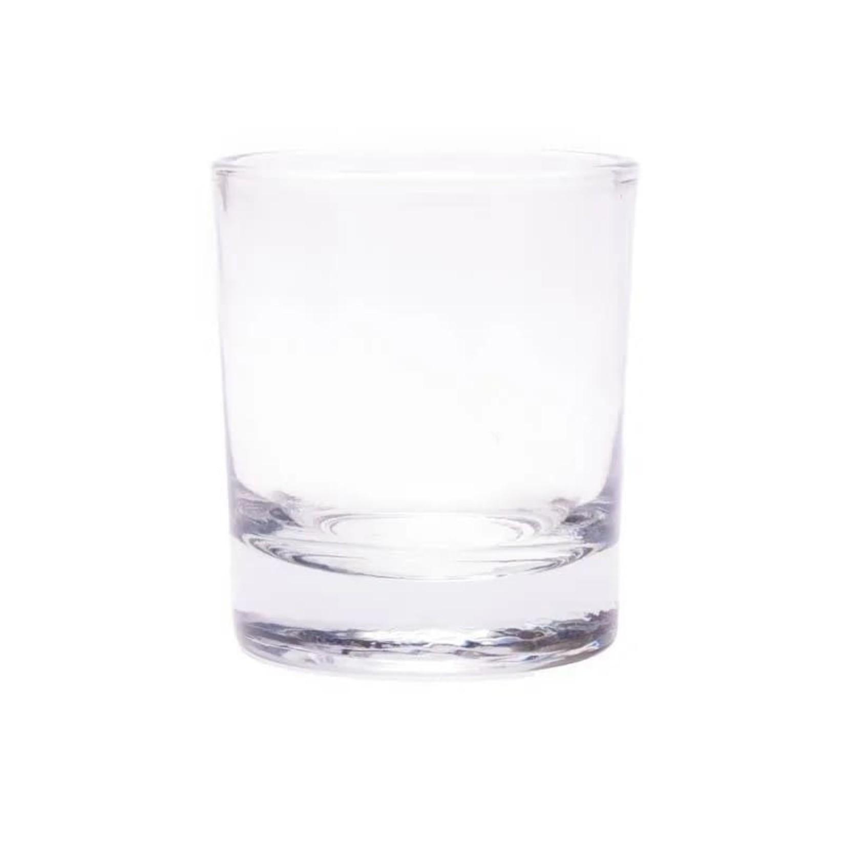Yogi & yogini naturals Glaasje voor geurkaarsjes van gerecycleerd glas