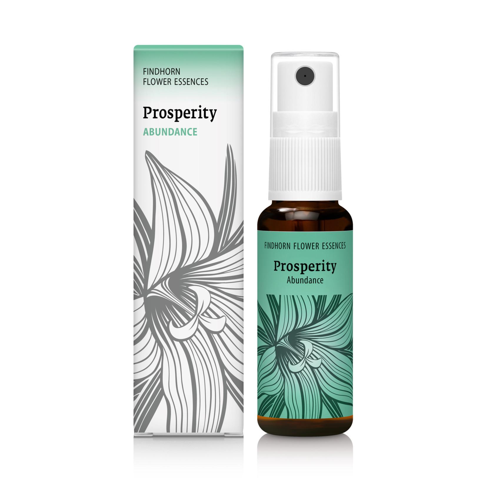 Findhorn Essences Findhorn Essences 'Prosperity' bloesemspray - angst voor tekort transformeren