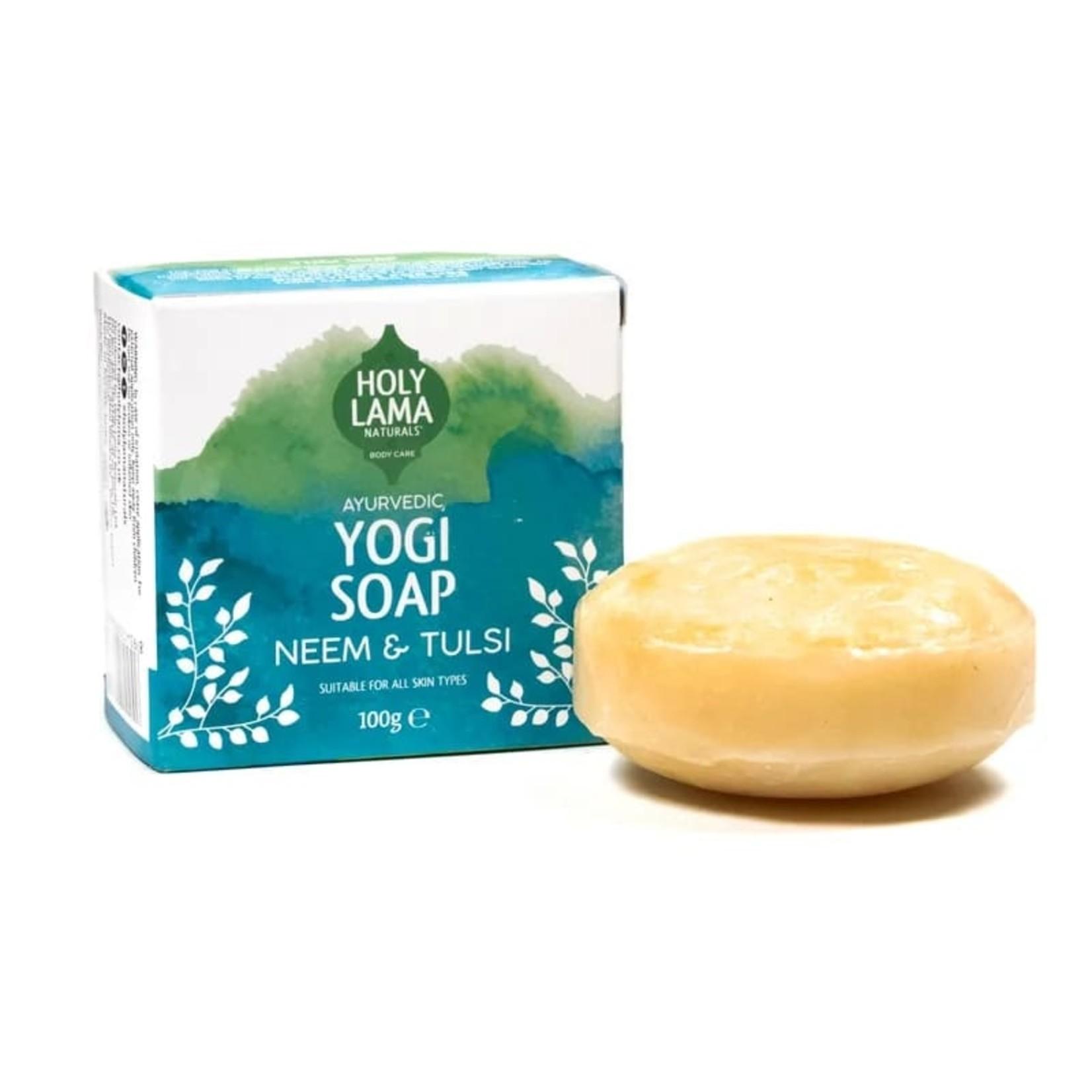 Holy Lama Bestseller Ayurvedische zeep Yogi met kokosolie en tulsi en neem