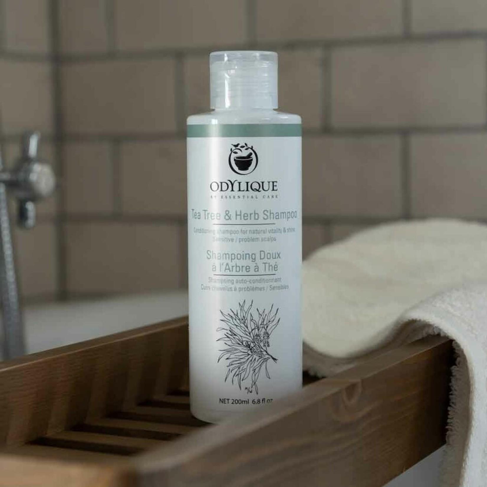 Odylique Organic tea tree & herbal shampoo Odylique - tegen roos!