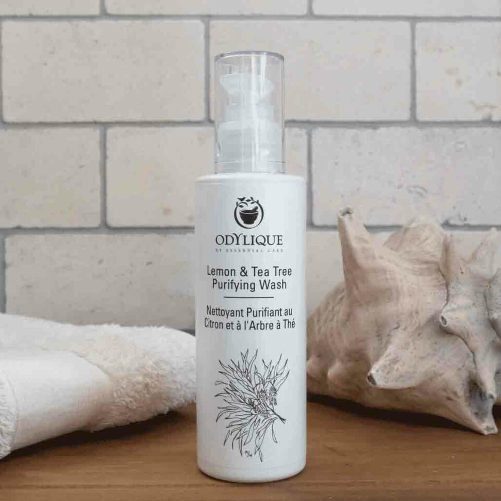 Odylique Lemon & tea tree Purifying Wash Odylique - milde reiniger voor normale tot vette huid