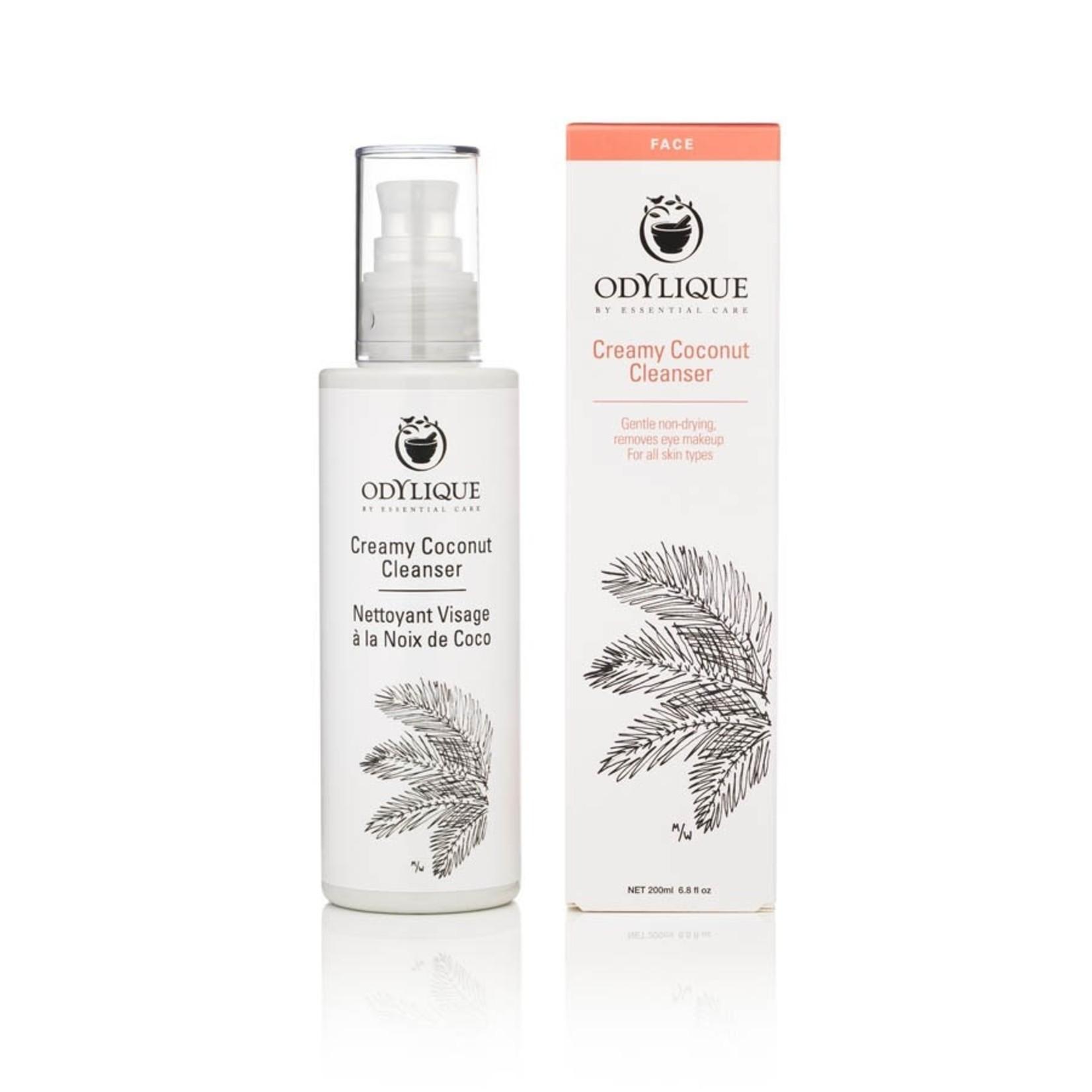 Odylique Creamy coconut cleanser Odylique - romige reiniger voor normale/rijpere huid