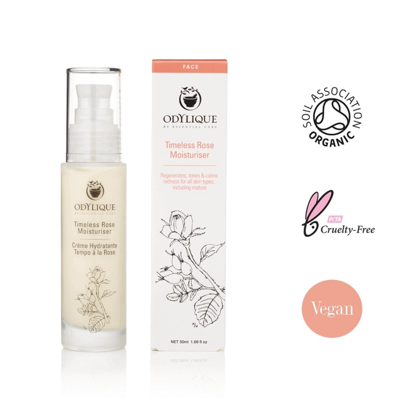 Odylique Timeless rose moisturiser Odylique - super hydraterend voor alle huidtypes